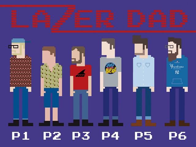 Lazer Dad - COURTESY PHOTO