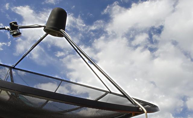 A TV satellite receiver - KOBFUJAR | DREAMSTIME.COM