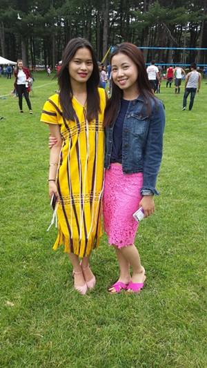 Tar Dah (left) and Sheelar Moo - KYMELYA SARI
