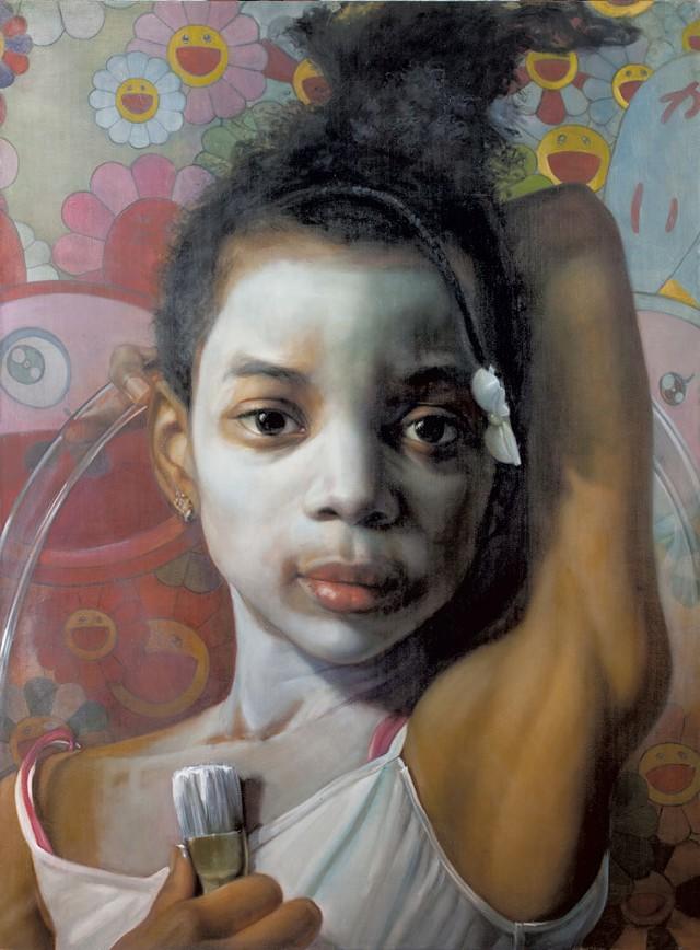"""The Artist"" by Margaret Bowland - COURTESY OF HELEN DAY ART CENTER"