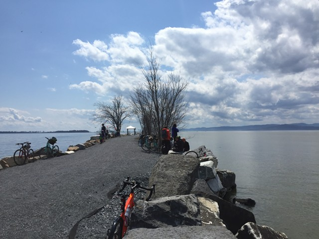 The Colchester causeway in April 2018 - FILE: SASHA GOLDSTEIN