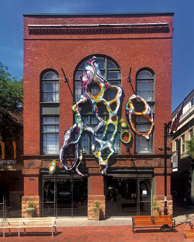 """""""Traverse"""" by Crystal Wagner - SAM SIMON/COURTESY OF BCA CENTER"""