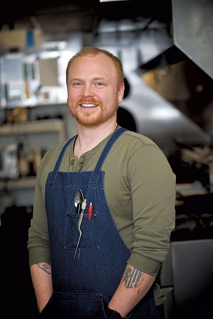 Essex Inn executive chef Jordan Sauter - COURTESY OF GREER-CICARELLI PHOTOGRAPHY