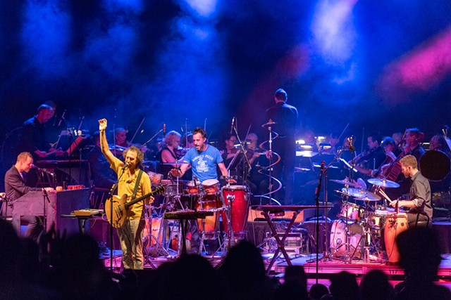 Guster with the Vermont Symphony Orchestra - COURTESY OF RICK LEVINSON