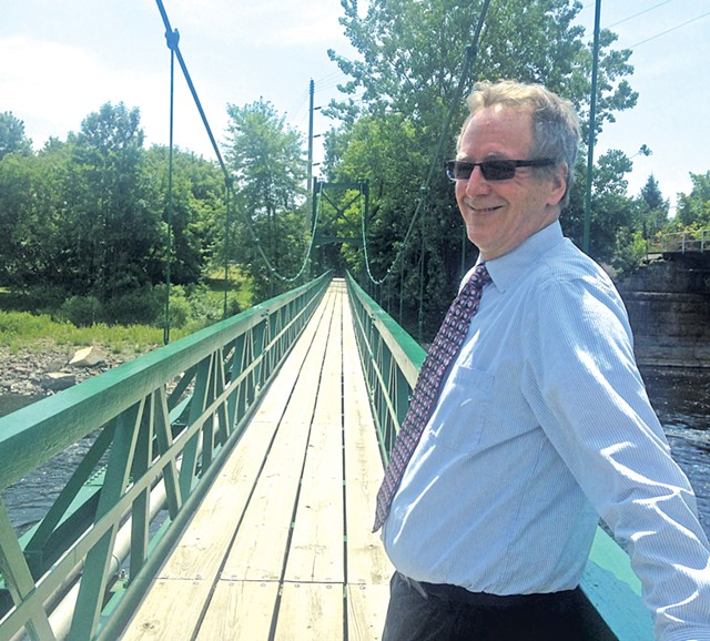 Plattsburgh Mayor Colin Read - MOLLY WALSH