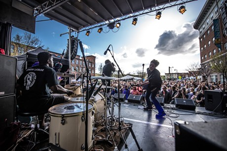 Rough Francis performs on the Main Stage on Saturday - PHOTO COURTESY OF LUKE AWTRY PHOTOGRAPHY/WAKING WINDOWS