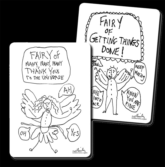 Bluebird Fairy Cards - FILE: CALEB KENNA