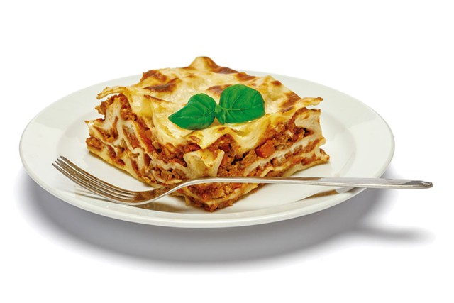 Lasagna will be on the menu at Jr's Original - DREAMSTIME