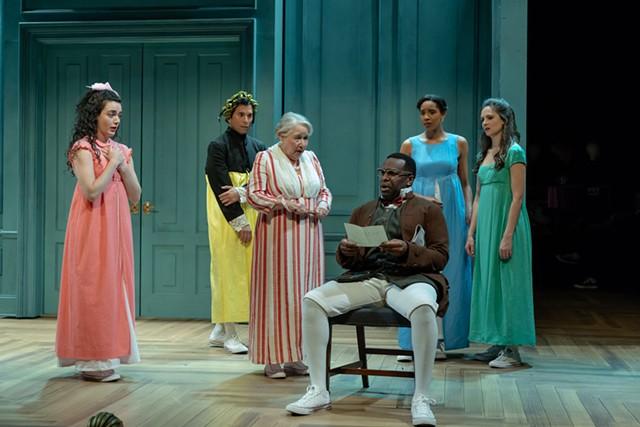 Cast from Pride & Prejudice - COURTESY OF JOEY MORO