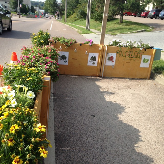 Another parklet view - MOLLY WALSH