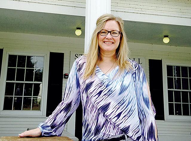 Jennifer Scott, president of the College of St. Joseph - MOLLY WALSH