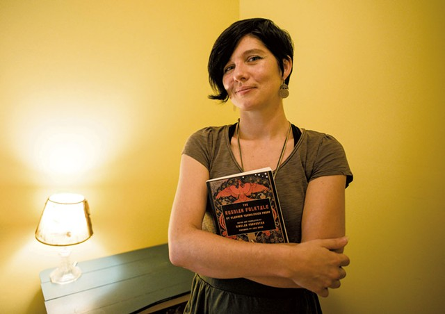 Trish Denton at home in Burlington - GLENN RUSSELL