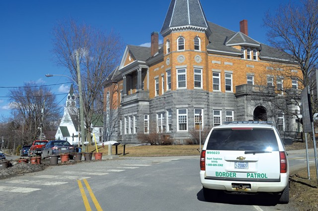 Haskell Free Library and Opera House in Derby Line - MARK DAVIS