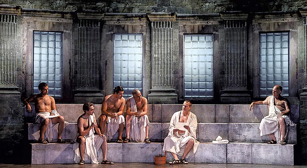 Coriolanus - COURTESY OF DAVID HOU