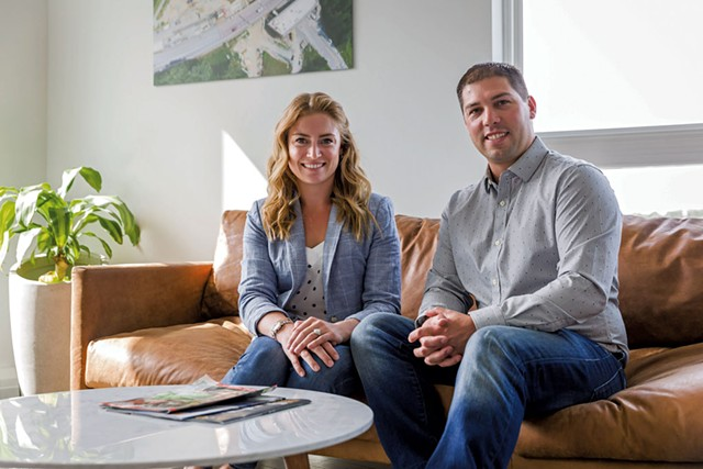 Jacqueline and Nathan Dagesse - OLIVER PARINI