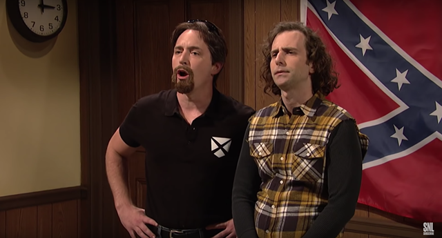 Beck Bennett and Kyle Mooney - SCREENSHOT: SATURDAY NIGHT LIVE