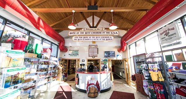 Cabot Creamery Visitor Center, Cabot - COURTESY OF CABOT CREAMERY