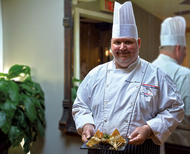 Executive chef Chris Harmon of Sage Restaurant - COURTESY OF SAGE RESTAURANT
