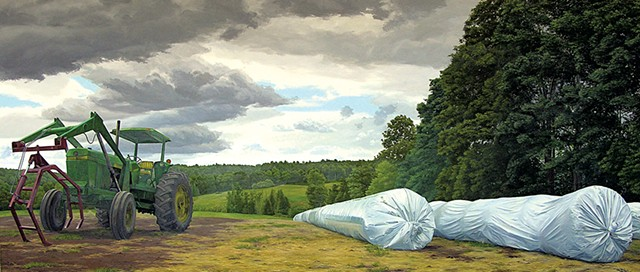 """""""Tractor and Ag-Bags"""" by Altoon Sultan"""