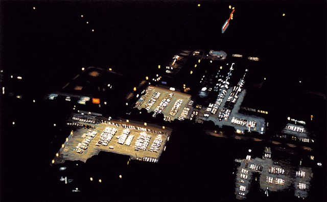 """""""MBNA (Credit Card Co) Parking Lots"""" by Yvonne Jacquette"""