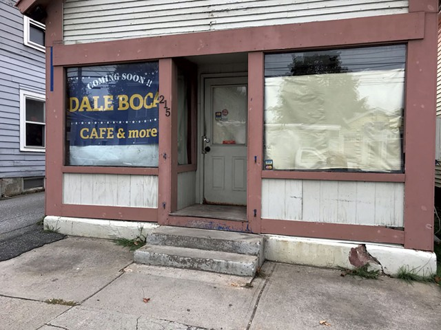 The storefront of the future Dale Boca Argentinean Grill - SALLY POLLACK