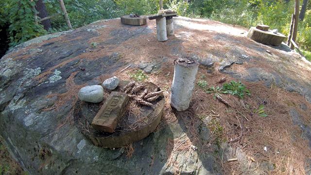 Table Rock set for dinner - JORDAN ADAMS