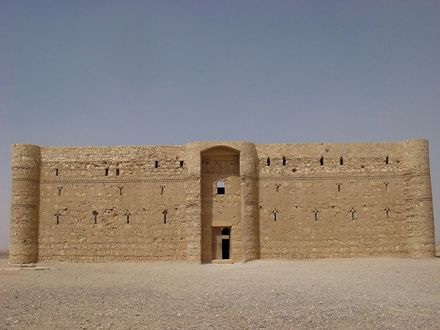 Qasr Al-Kharrana, a desert castle in modern-day Jordan - KYMELYA SARI