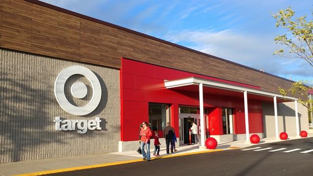 Target storefront - JORDAN ADAMS