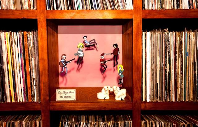 City Rock Dove album art - COURTESY OF BILL SIMMON