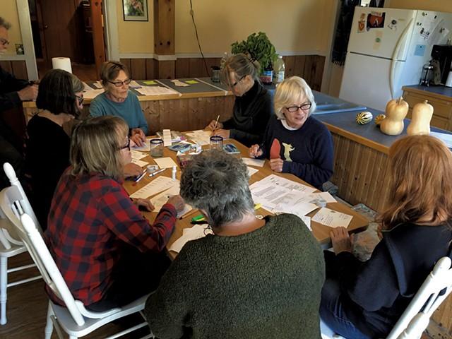 Clockwise from left: Ginny Sassaman, Judy Copa, Iris Wechling, Marilyn Bush, Linda Schütz and Karen Bunnewith - JOHN WALTERS