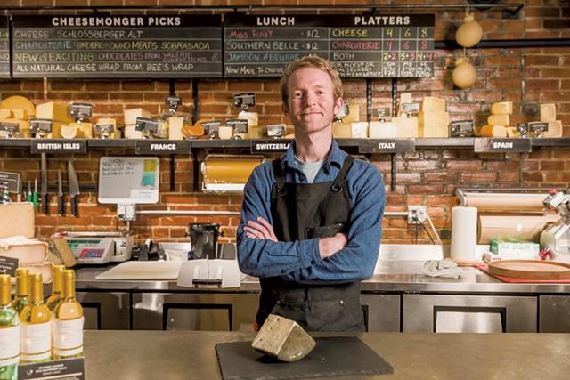 Dedalus cheesemonger John O'Brien - OLIVER PARINI
