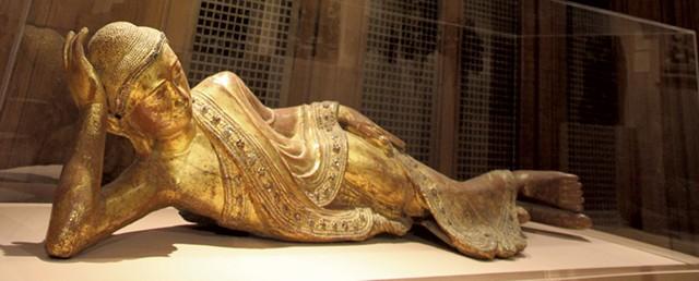 Parinirvana Buddha at Fleming Museum - MATTHEW THORSEN