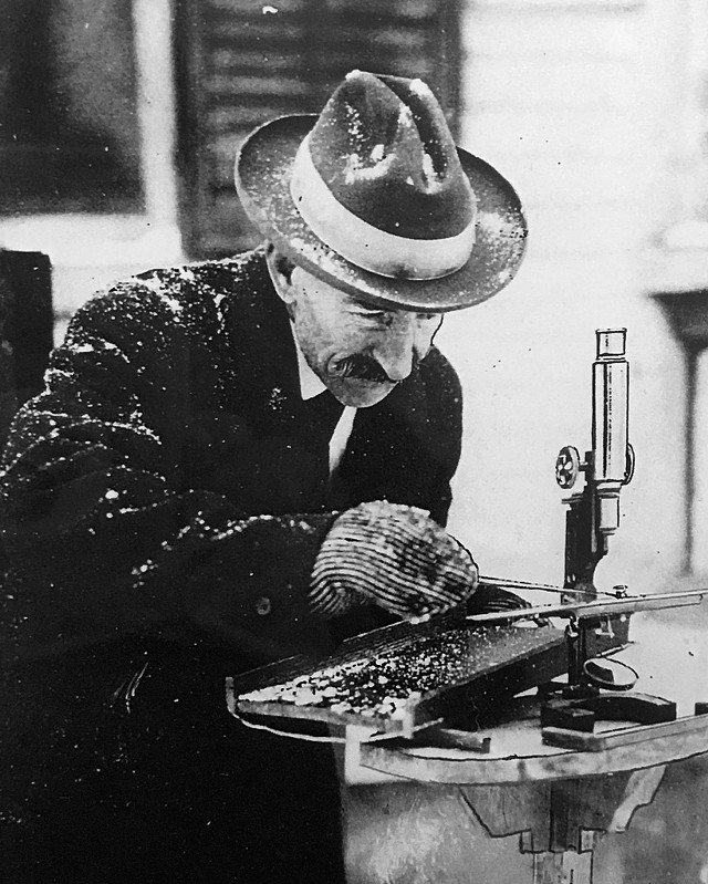 "Wilson ""Snowflake"" Bentley - COURTESY OF THE JERICHO HISTORICAL SOCIETY"