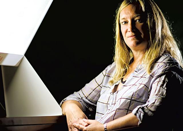Kelly Rohan - COURTESY OF UVM/ANDY DUBACK