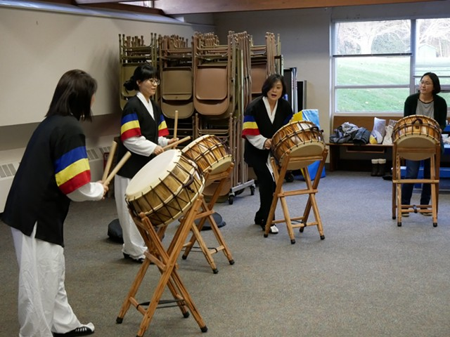 Sori Mori at practice - JOHN FLANAGAN