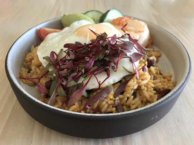 Rice bowl at Vergennes Laundry by CK - SALLY POLLAK