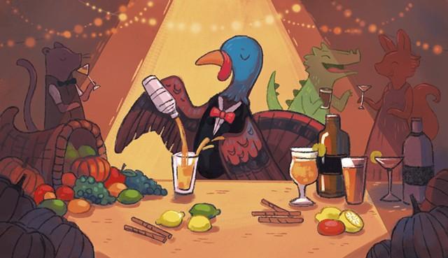 Toast the holiday - MICHELLE SIMPSON