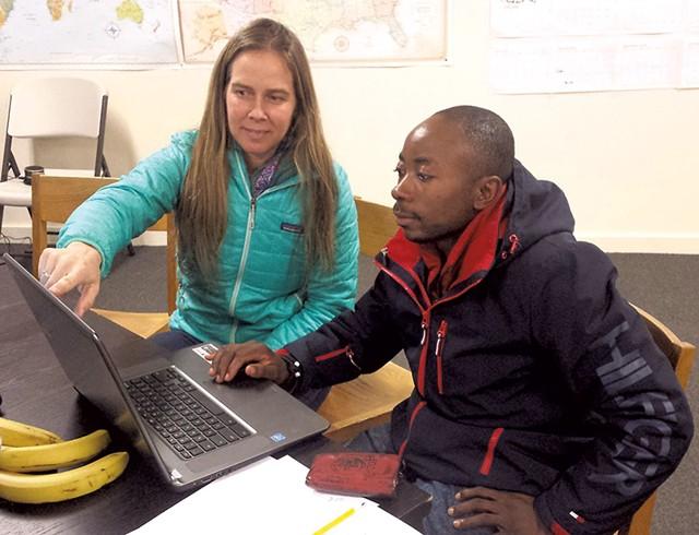 Raichle Farrelly and Jacques Moninga - KYMELYA SARI