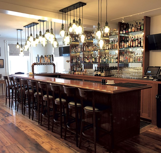 Bar at the inn - KIRK KARDASHIAN