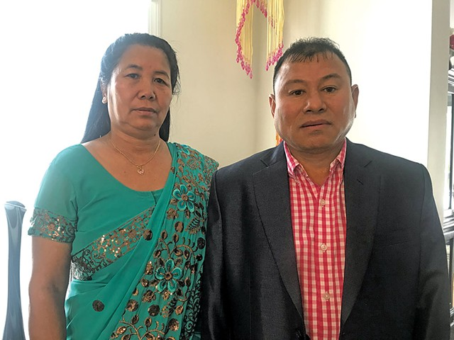 Mon and Bishnu Rai - COURTESY OF BUDDHA RAI