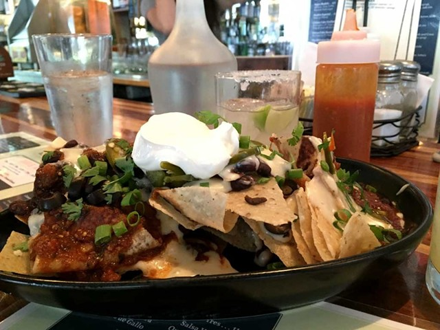 Nachos at El Cortijo - DON EGGERT/FILE