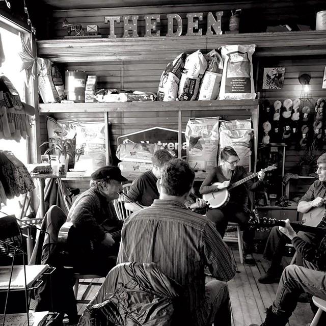 Jam session at Harry's Hardware - COURTESY OF HARRY'S HARDWARE