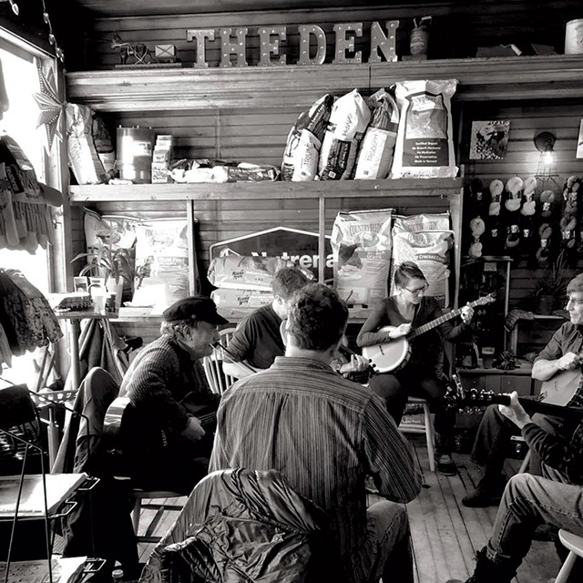 Jam session at Harry's Hardware - COURTESY OF HARRY'S HARDWARE