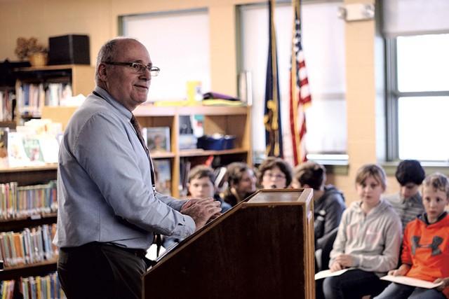 Chelsea Public School principal Mark Blount - DYLAN KELLEY