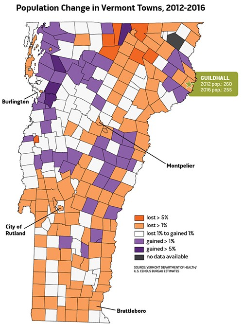 Source: Vermont Department of Health/U.S. Census Bureau - ANDREA SUOZZO/DIANE SULLIVAN