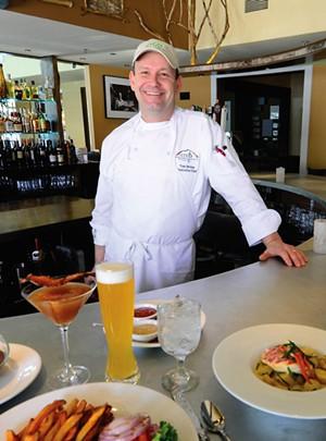 Chef Tom Bivins of Crop Bistro & Brewery - JEB WALLACE-BRODEUR