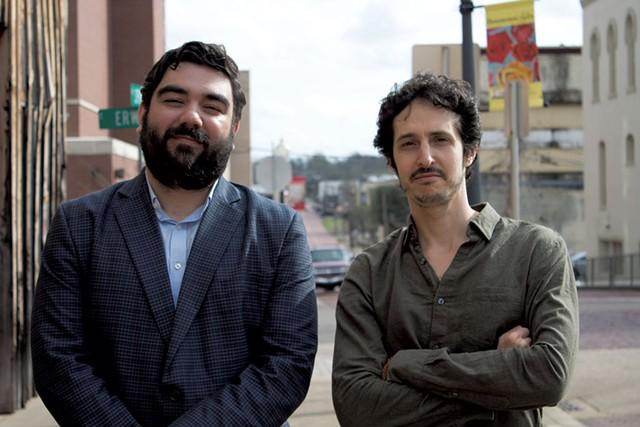 James Chase Sanchez (left) and Joel Fendelman - COURTESY OF ARIEL ORR