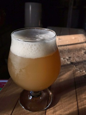 Farmhouse-style ale - COURTESY OF WHIRLIGIG BREWING