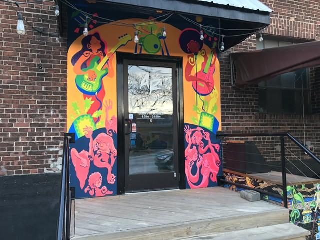 ArtsRiot entrance - SALLY POLLAK