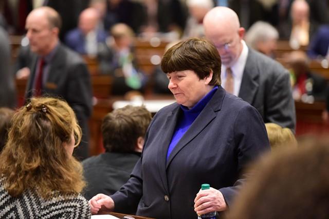 State Treasurer Beth Pearce - JEB WALLACE-BRODEUR